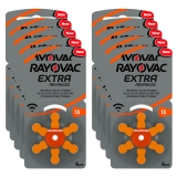 Rayovac Extra Advanced ACT 13 orange 10-pakk
