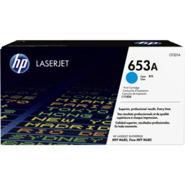 Pris på HP Tonerkassett cyan 16.500 sider CF321A Tilsvarer: N/A