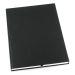 Muistikirja Grieg Design A4 viivoitettu, musta