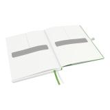 Anteckningsbok Leitz iPad-size linjerat vit