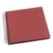 Valokuvakansio GRIEG Design keskikoko 40 siv. punainen