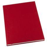 Notatbok Grieg Design inb A4 linjert rød