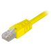 DELTACO U/UTP Cat6 patchkabel 1 m, gul