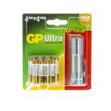 GP Batterijen 4 AA (LR6) en 4 AAA (LR03) incl. LED-lamp