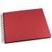 Valokuva-albumi Greig Design 293x333 mm, punainen