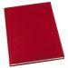 Muistikirja Grieg Design A4 viivoitettu, punainen