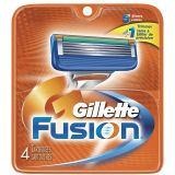 Gillette Fusion 4-pack rakblad