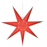 Katabo adventsstjärna 70 cm, röd