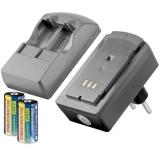 Goobay Batteriladdare 2x RCR123A