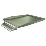 Brevbakke Leitz Style alu celadon grøn