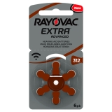 Rayovac Extra advanced ACT 312 Brun