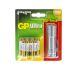 GP Batterier 4 AA (LR6) og 4 AAA (LR03) inkl LED pære