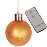 Juletrekuler LED 6-pakke Gull