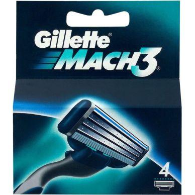 Bild Gillette Gillette Mach3, Rasierklingen 4 St.