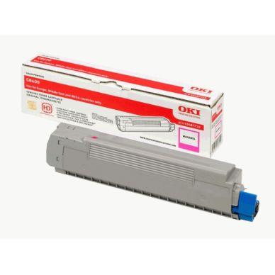 OKI C 8600/8800 M lasertoner – 43487710  – Magenta 6000 sider