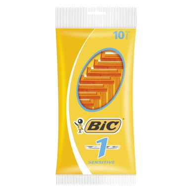BIC Razor Sensitive single-blade 10 pack