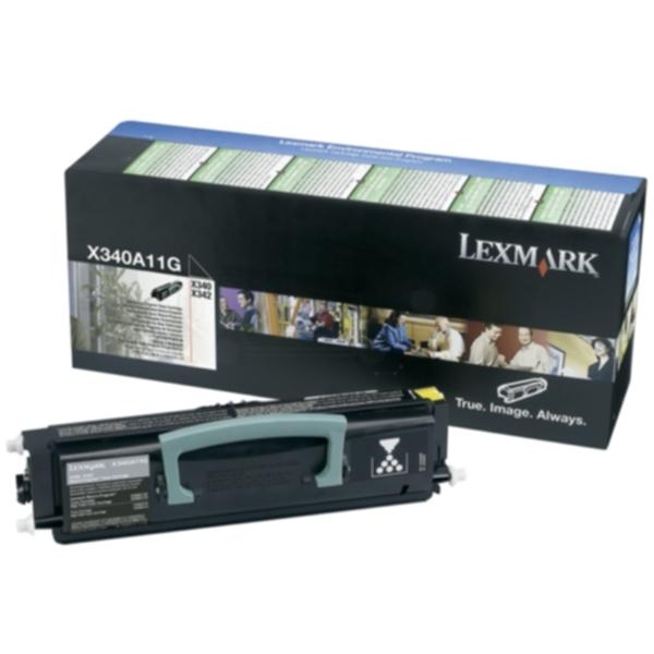 Pris på Lexmark Tonerkassett 2.500 sider RETURN X340A11G Tilsvarer: N/A
