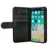 GEAR Lompakko iPhone X/Xs Magneettikuori Musta