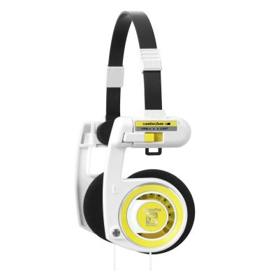KOSS KOSS Headset Porta Pro 2.0 White Lemon