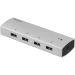 DELTACO PRIME USB 3.0-hub, 4x USB typ A (hunn)