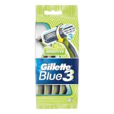 Gillette Blue3 Sensitive engångshyvel 4 st/förp