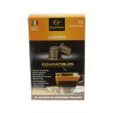 100% Espresso Basic Lungo kaffekapslar, 10 st
