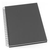 Notatbok Grieg Design spiral A4 linjert svart