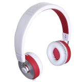 Maxell MXH-HP650 KUMA HEADPHONES WHITE/RED