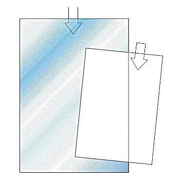 Plastfodral A5 0,12 präglad, 100 st