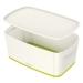 Oppbevaringsboks Small Leitz MyBox® m/lokk Hvit/Grønn