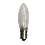Universal E10 LED 0,2W Klar, 7 st.