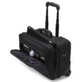 Dicota Roller ECO resväska laptops 14-15,6 tum, hjul svart