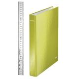 Ringperm Leitz Wow A4+ 4RR 29 mm grønn