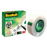 Dokumenttape Scotch 810, 33m x 19 mm 5 stk