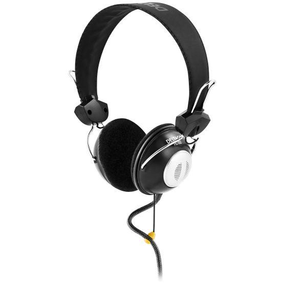 DELTACO headset med volymkontroll 0e675fb2ff380