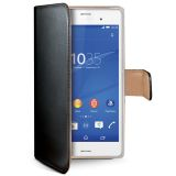 Celly Portemonnee hoes Xperia Z3 Zwart/Beige