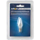 Reservepære LED til adventsstake, E10 matt hvit, 1 st.