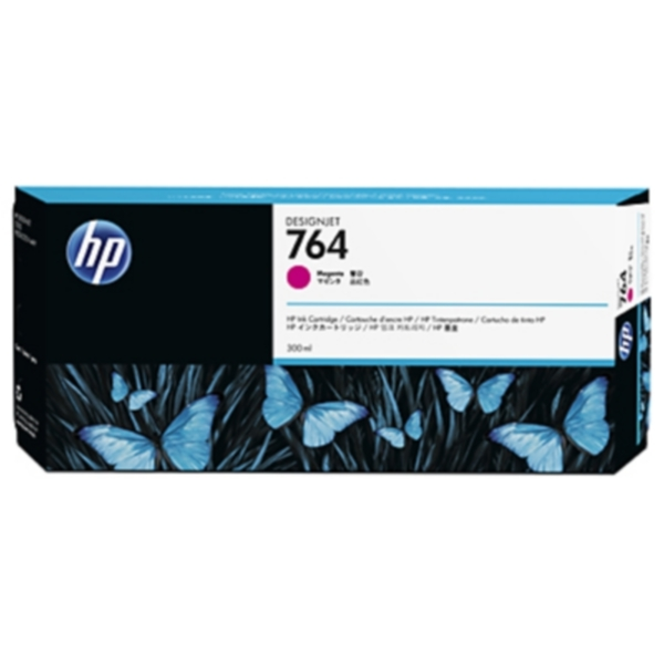 Pris på HP Blekkpatron magenta HP 764, 300ml C1Q14A Tilsvarer: N/A