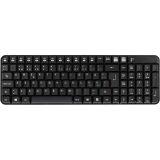 Deltaco trådlöst tangentbord, nordisk layout, USB