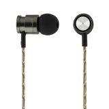 Streetz in-ear hodetelefoner med tekstilkledd kabel