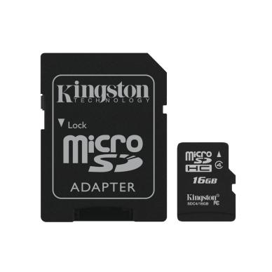 KINGSTON Kingston Micro SD 16 GB YXSDKING16 Modsvarer: N/A