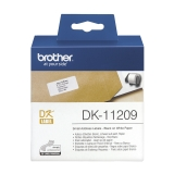 Etikett Brother universal 29x62 mm, 800 stk.