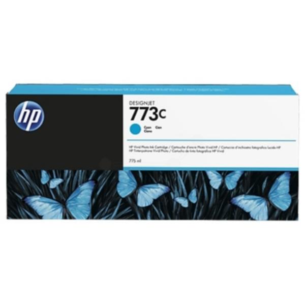 Pris på HP Blekkpatron cyan HP 773C, 775ml C1Q42A Tilsvarer: N/A