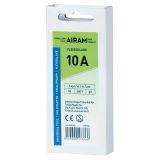 Airam smältpropp 10A, 5-pack