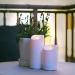 2-pack LED-Blockljus inom-/utomhus 12,5+17,5cm