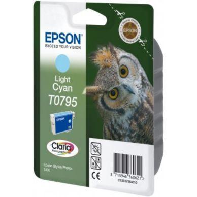 EPSON Mustepatruuna vaalea cyan 11ml