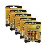 Batteri 1,5 V AA,(LR6) Alkaliske (20-pakk)