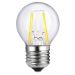 Airam Filament LED klotlampa E27 4W