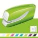 Stiftemaskin batteri Leitz WOW Grønn