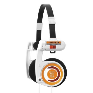 KOSS KOSS Headset Porta Pro 2.0 White Orange
